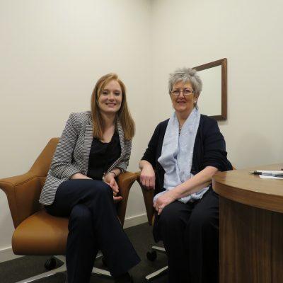 Hidden Hearing Audiologist Kathryn Woodside & Give Back Nominee Marna Savage